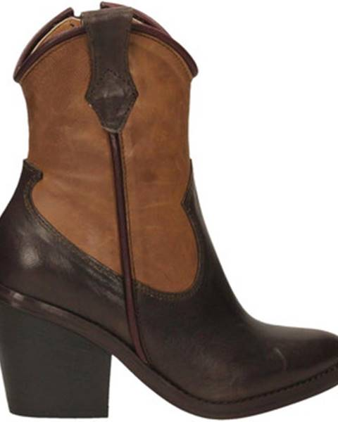 Hnedé topánky Salvador Ribes