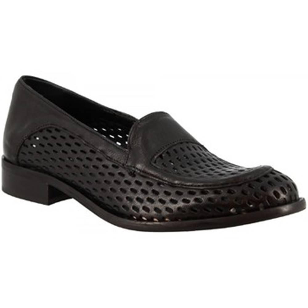 Leonardo Shoes Mokasíny Leonardo Shoes  2001MARC NERO
