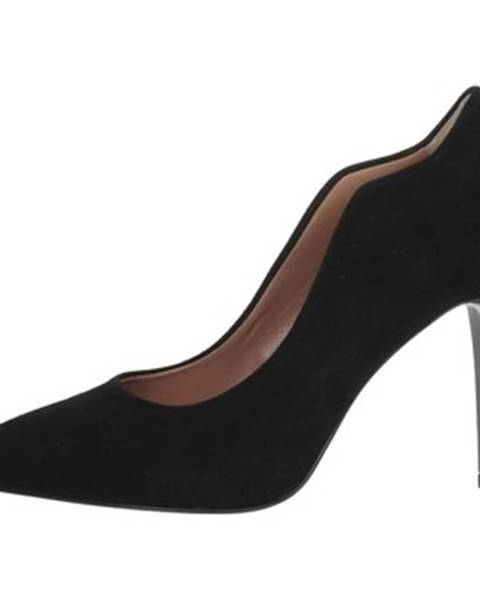 Čierne topánky Chiara Firenze