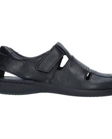 Čierne sandále Imac
