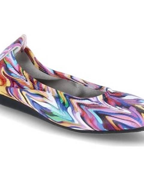 Viacfarebné topánky Arche