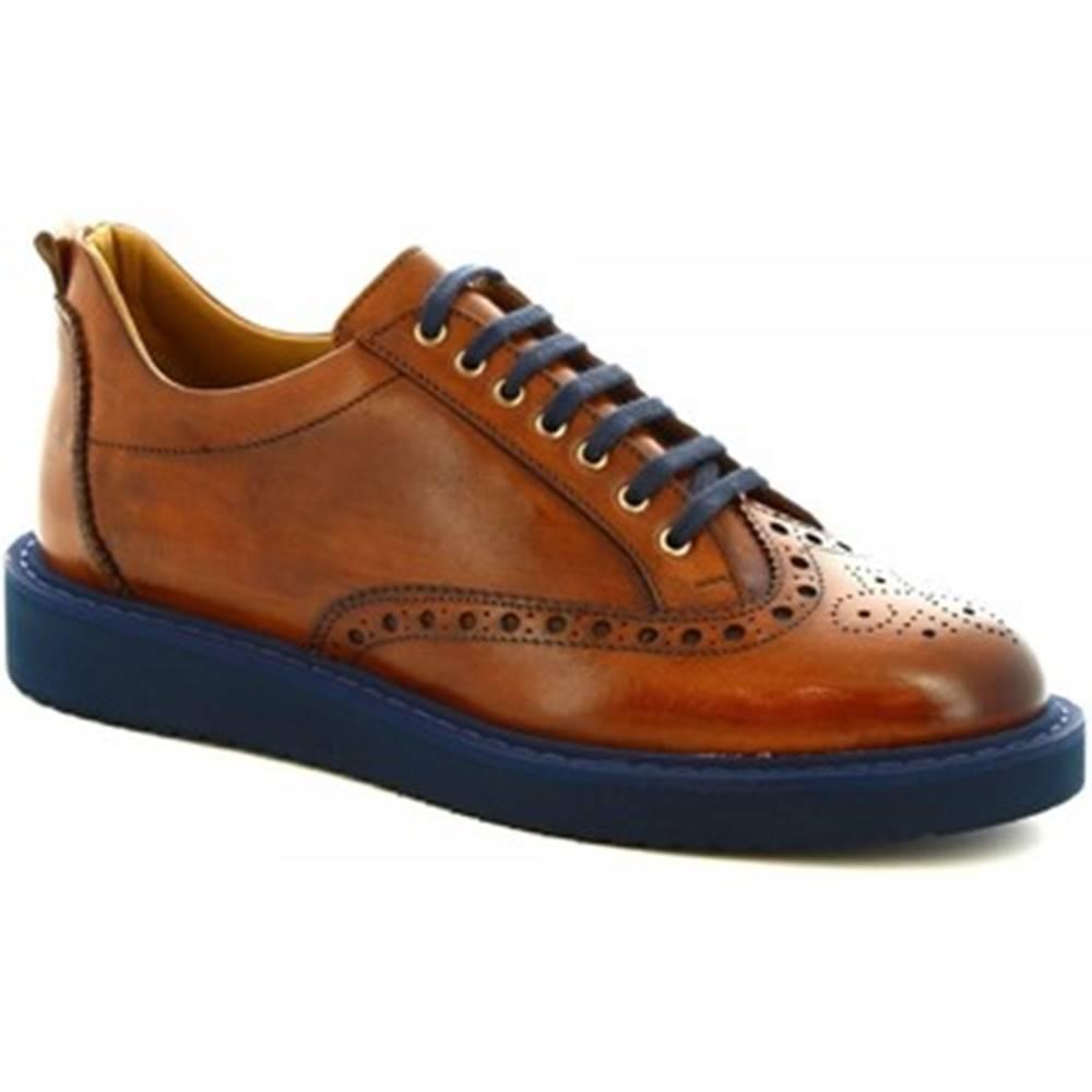 Leonardo Shoes Derbie Leonardo Shoes  1119_1 VITELLO CUOI