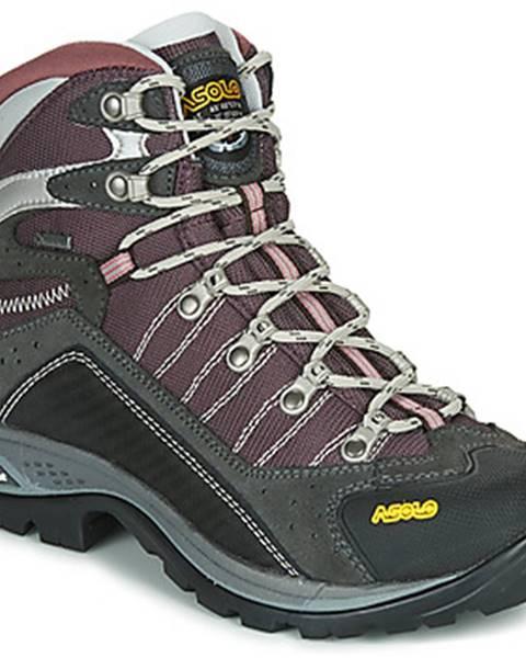 Fialové topánky Asolo