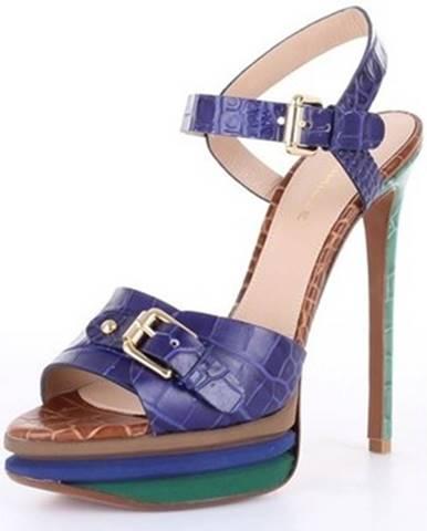 Modré topánky Deimille