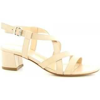 Sandále Leonardo Shoes  5126 NAPPA NUDE