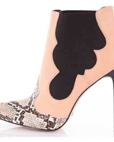Viacfarebné topánky Cecconello