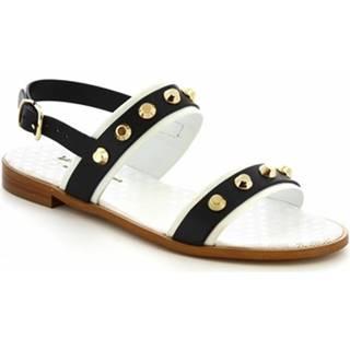 Sandále Leonardo Shoes  T10 VITELLO BLU
