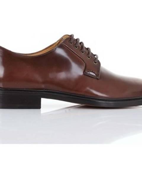 Hnedé topánky Hal Italian Hand Made