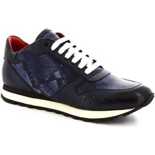 Nízke tenisky Leonardo Shoes  9234/19 COCCO AV BLU