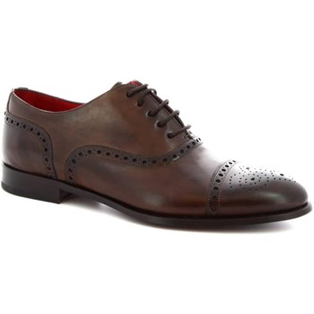 Leonardo Shoes Richelieu Leonardo Shoes  5086I18 TOM MONTECARLO CIOCCOLATO