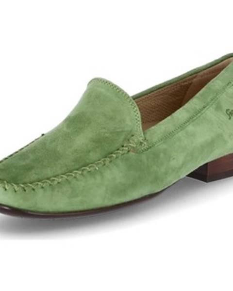 Zelené topánky Sioux