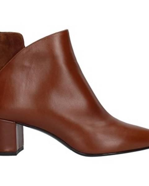 Hnedé topánky Albano
