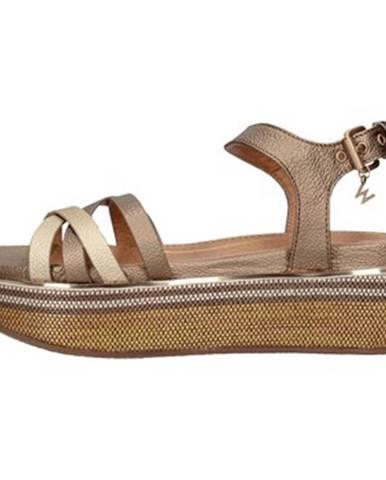 Zlaté topánky Wrangler