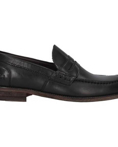 Čierne topánky Franco Fedele