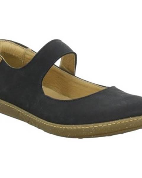 Čierne topánky El Naturalista