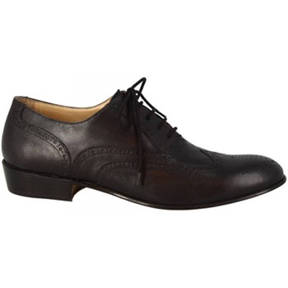 Leonardo Shoes Derbie Leonardo Shoes  PINA 037 NERO