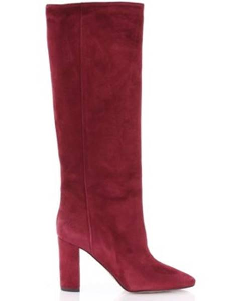 Červené čižmy Bianca Di