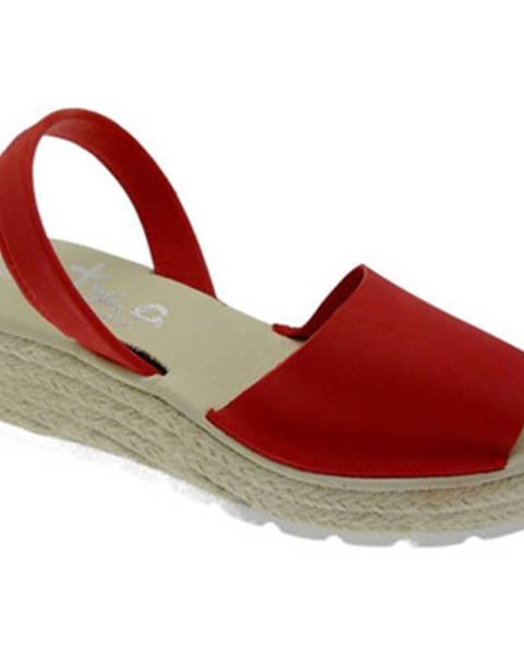 Červené topánky Atxa