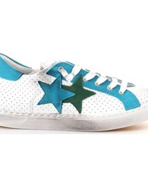 Zelené tenisky 2 Stars