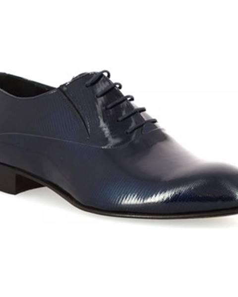 Modré topánky Leonardo Shoes
