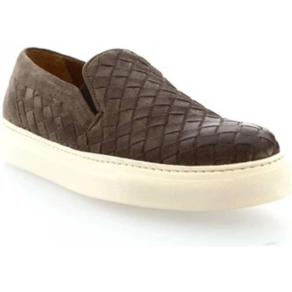 Leonardo Shoes Mokasíny Leonardo Shoes  7002_5 COMOSCIO FANGO