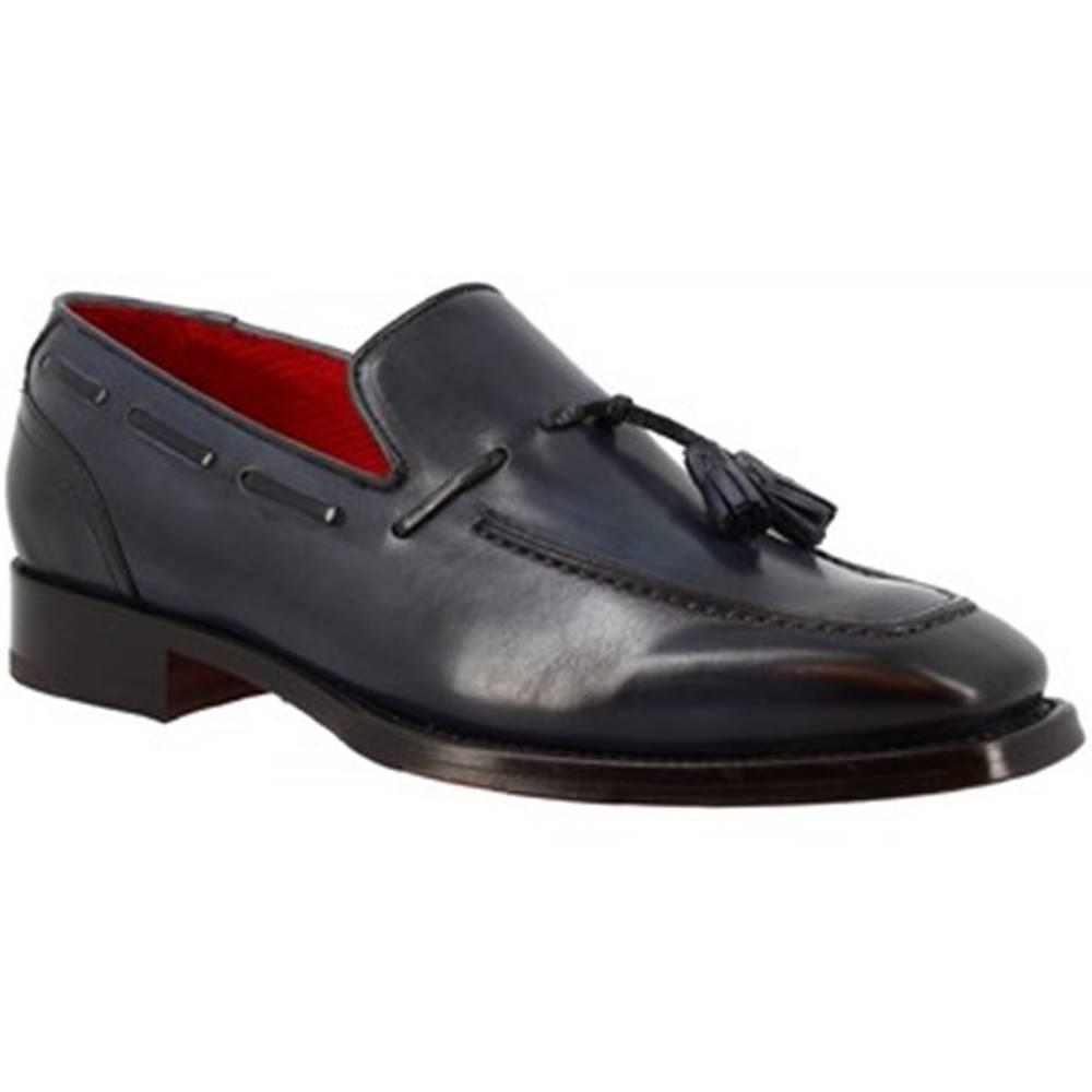 Leonardo Shoes Mokasíny Leonardo Shoes  9572E20 TOM MONTECARLO AV BLU