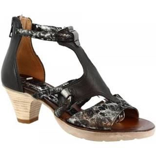 Sandále Leonardo Shoes  588007 NERO INOX