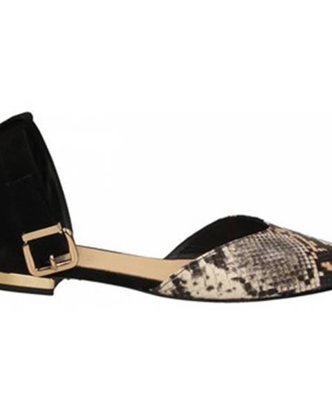 Viacfarebné topánky Champ De Fleurs