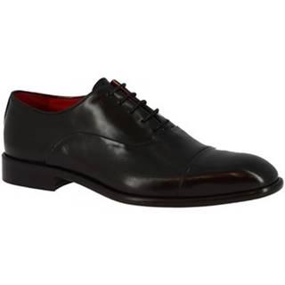 Derbie Leonardo Shoes  188 CUOIO V. NERO