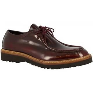 Mokasíny Leonardo Shoes  M631-80 DALLAS BORREAUX