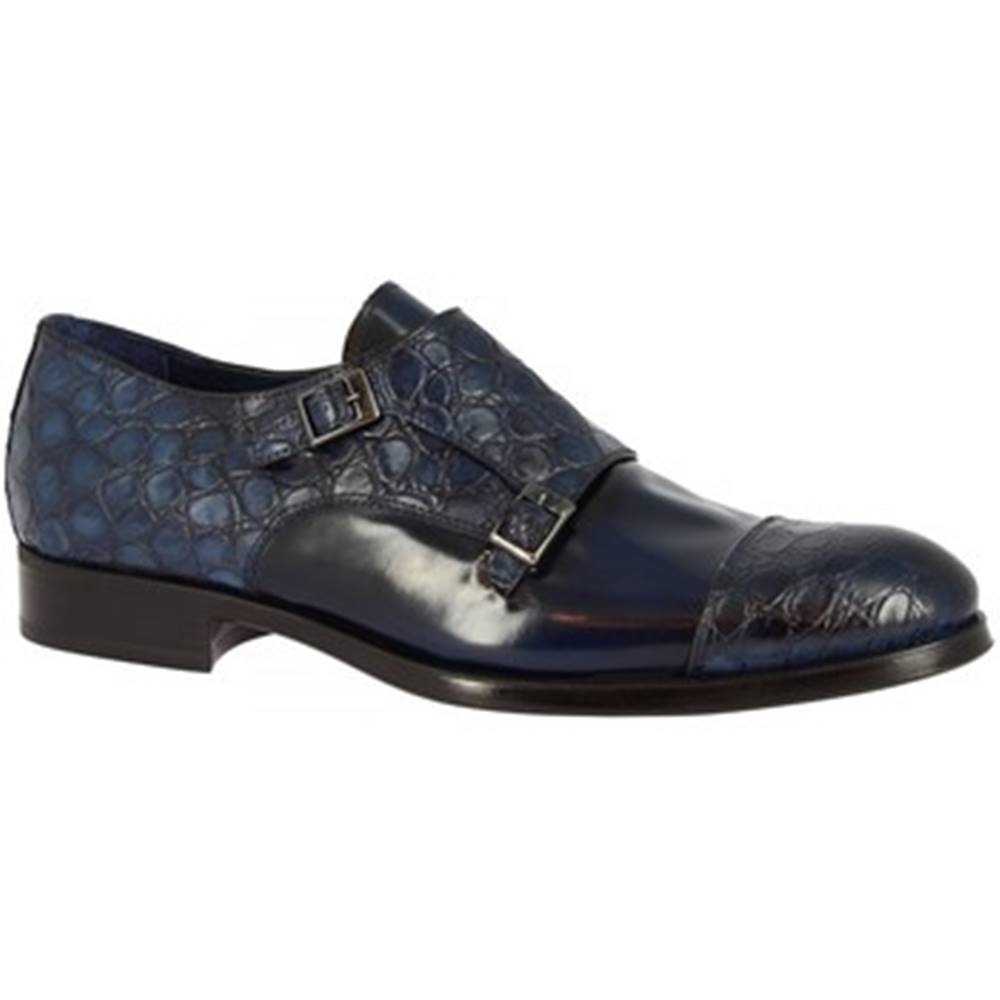 Leonardo Shoes Mokasíny Leonardo Shoes  520-4939 COCCO BLU