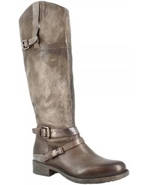 Strieborné čižmy Leonardo Shoes