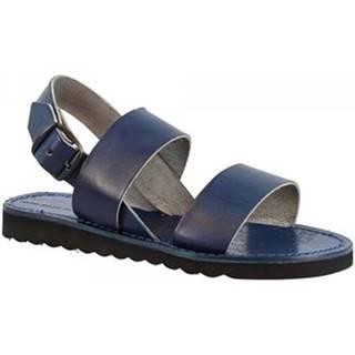 Sandále Leonardo Shoes  500 BLU