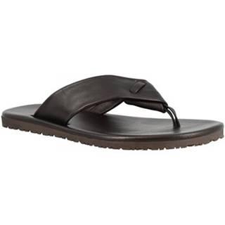 Žabky Leonardo Shoes  M5410 VITELLO NERO