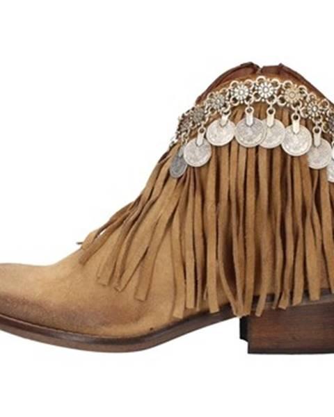 Béžové topánky Zoe