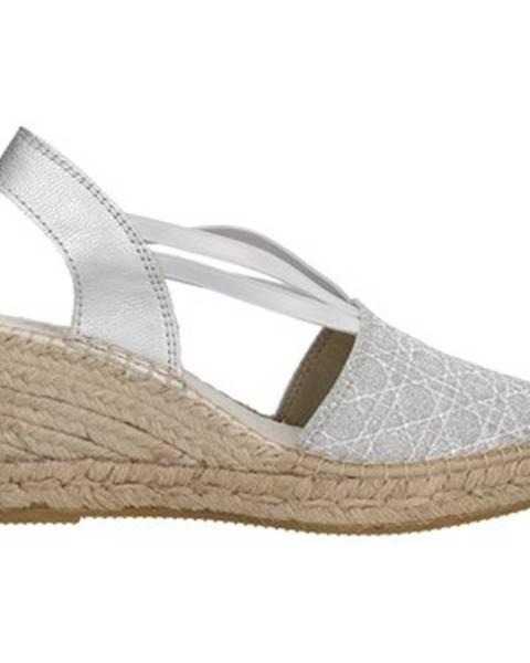 Strieborné topánky Vidorreta