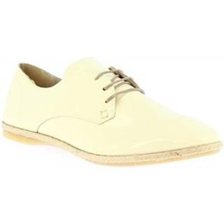 Derbie Leonardo Shoes  CB02 NAPLAK PANNA