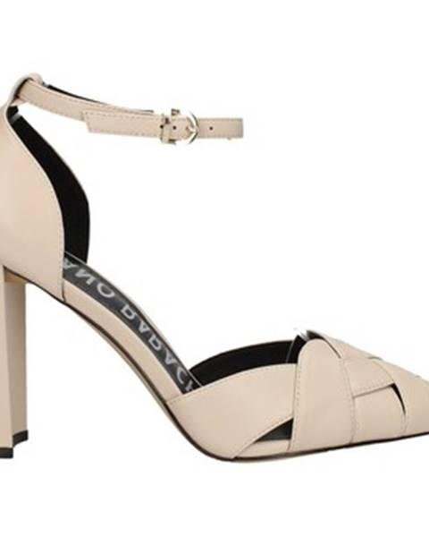 Béžové topánky Oggi By Luciano Barachini