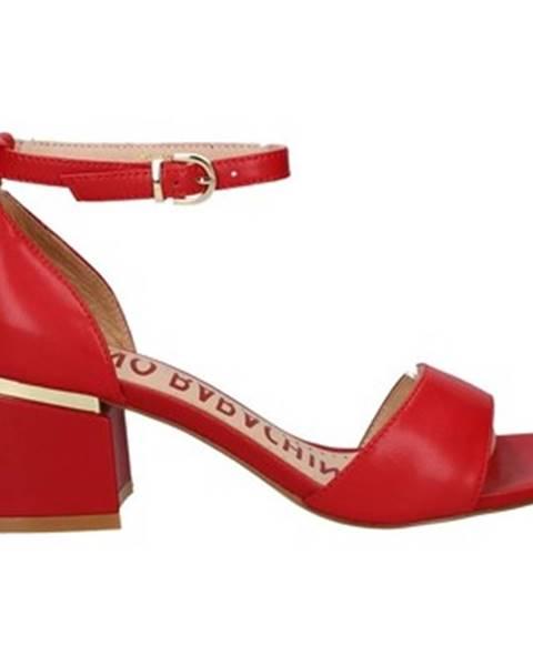 Červené topánky Oggi By Luciano Barachini