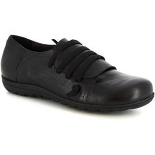 Derbie Leonardo Shoes  4530 STROPICCIATO NERO