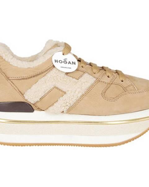 Béžové topánky Hogan