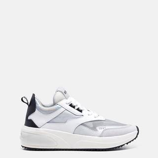 Biele dámske tenisky na platforme Replay