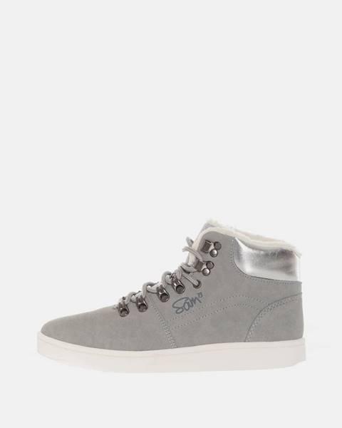 Sivé topánky SAM 73