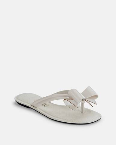 Krémové papuče Grendha