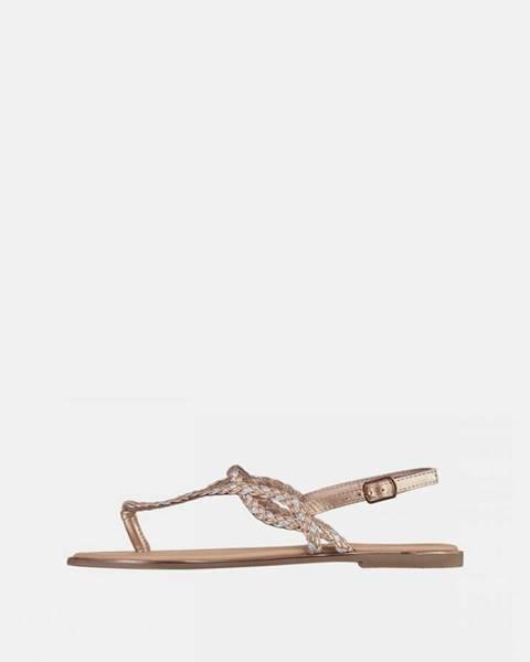 Zlaté sandále Haily´s