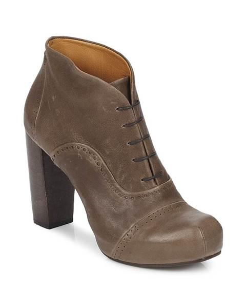 Hnedé topánky Coclico