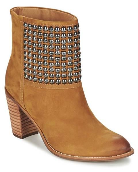 Hnedé topánky Dumond