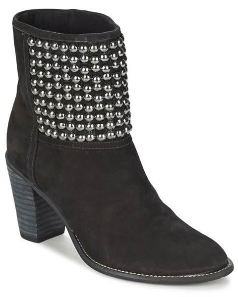 Čierne topánky Dumond