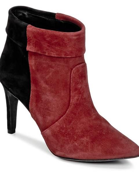 Bordové topánky Ikks