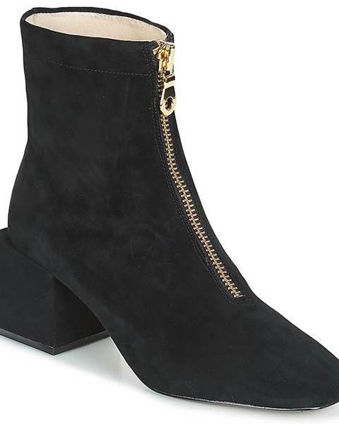 Čierne topánky Miss L'Fire